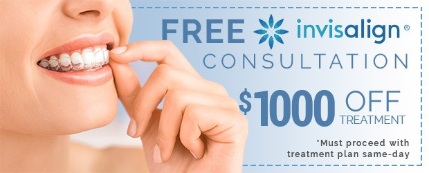 Free Invisalign consultation coupon